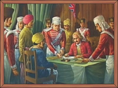 The Treaty of Chittagong 1762  : RKCS Art Gallery