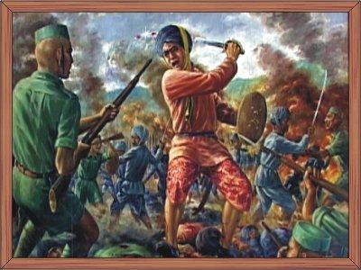 The battle of Khongjom : RKCS Art Gallery