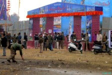 Bomb Blast in front of Manipur Sangai Tourism Festival Main Gate Nov 30 :: Gallery