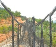 Govt officials/Pol Parties inspected fencing at Indo-Myanmar border #1 :: Gallery