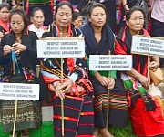 UNC Peace rally at Ukhrul #1 :: Gallery