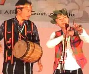 Tangkhul Folk Song at Tribal Cultural Festival :: Ooba Video