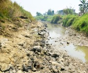 The condition of rivers in Imphal City as on 22nd March 2015 :: Gallery