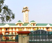 Central Agricultural University (CAU) Gate, Iroisemba  :: 360 View Panorama