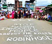 ILP : 38-hour bandh by JAC constituted against death of Sapam Robinhood on July 29 #1 :: Gallery