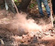 Crater expands, ejection of smoke/ashes at Wahong in Ukhrul district :: Gallery