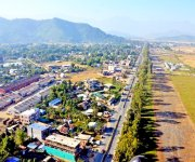Aerial view of Koirengei Area, Imphal :: Gallery