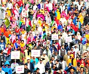 Mass Rally for the common future of Manipur :: Gallery