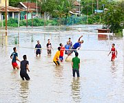 Large areas flooded  in Imphal and Thoubal on May 22 #1 :: Gallery