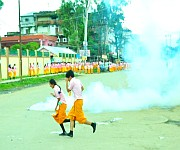 ILP : TG Students clash with Police on July 22 #1 :: Gallery