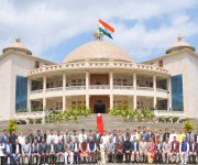 Photo session  : Governor with Elected members of 11th Manipur Legislative Assembly