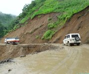 Landslide at Imphal Jiribam Highway (NH 37) #2 :: Gallery