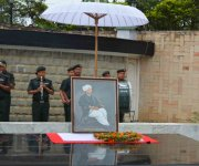 126th Patriots' Day observed at Hicham Yaichampat, Imphal :: Gallery