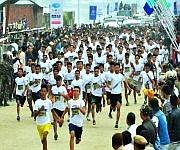 Sangai Run - Half Marathon 2017 (21.097 kms) at Sendra, Moirang #1 :: Gallery