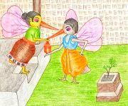 Kang Amomgi Tentha - The Female Mosquitoes' Plight : Funga Wari