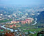 An aerial view from Chingmeirong of the Imphal City :: Gallery