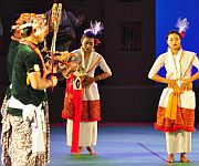 Day 3 :  Maibi Laiching Jagoi at Sangai Festival :: Gallery