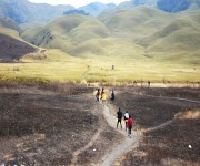 Trekking to Dzukou Valley in Senapati district, Manipur on 27th to 29th January 2019 :: Gallery