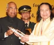 Rajkumar Singhajit Singh : Tagore Award for Cultural Harmony 2014 :: Profile