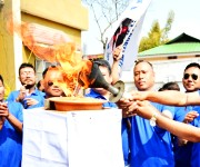 Torch Rally of 9th Annual Journalists Sports Meet from Kangla :: Gallery