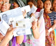 Voting for Inner Manipur Parliamentary Constituency for 17th Lok Sabha election :: Gallery
