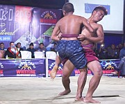 Wrestling at Poumai 'Paoki' Paddy Transplatation Festival at Purul #1 :: Gallery