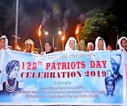Heikat-Leikat and Meira Rally : Patriots' Day  at Hicham Yaichampat & Thangal Complex :: Gallery