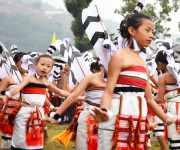 Children from Noney at State Level Banana Festival at Longmai #1 :: Gallery