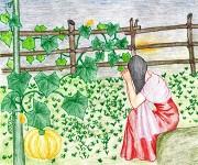 Angangdagi Mairen Onba : The Child Who Turned into a Pumpkin :: Folk Tales