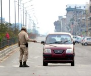 Curfew imposed in Imphal West & East District by Govt on March 24 :: Gallery