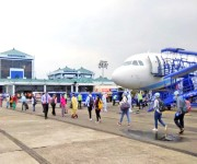 Measures taken as domestic flight arrival after lockdown at Imphal Airport - 25th May :: Gallery