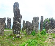 Stone stuctures at Willong Khullen, Maram #3 :: Gallery