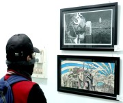 Exhibition by Dept of Fine Arts at Manipur University, Canchipur #2 :: Gallery