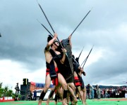 Cultural programmes at 3rd Shirui Lily Festival at Ukhrul #5 :: Gallery