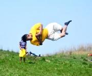 Kanglei Trickers perform Martial Arts at Mt Koubru #2 :: Gallery