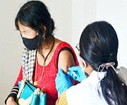 COVID-19 Vaccination at Primary Health Centre, Bashikhong on 3rd May 2021 #1 :: Gallery