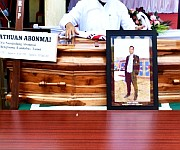 Funeral service of  Athuan Abomai at Langol Tarung Village on 14 October :: Gallery