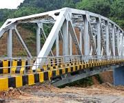 Makru Bridge along Imphal-Jiribam highway (NH 37) on 6th July :: Gallery